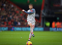 BOURNEMOUTH, ENGLAND - Saturday, December 8, 2018: Liverpool's Adam Lallana during the FA Premier League match between AFC Bournemouth and Liverpool FC at the Vitality Stadium. (Pic by David Rawcliffe/Propaganda)
