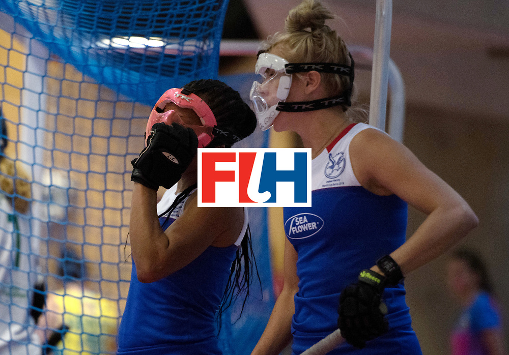 BERLIN - Indoor Hockey World Cup<br /> Australia - Namibia<br /> foto: Face Protection<br /> WORLDSPORTPICS COPYRIGHT FRANK UIJLENBROEK