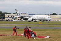 Airbus A350, Farnborough International Airshow, London Farnborough Airport UK, 15 July 2016, Photo by Richard Goldschmidt