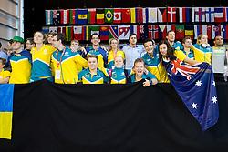 Team Australia Spectators AUS at 2015 IPC Swimming World Championships -