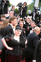 Beth Ditto at the gala screening of the film De rouille et d'os at the 65th Cannes Film Festival. Thursday 17th May 2012, the red carpet at Palais Des Festivals in Cannes, France.