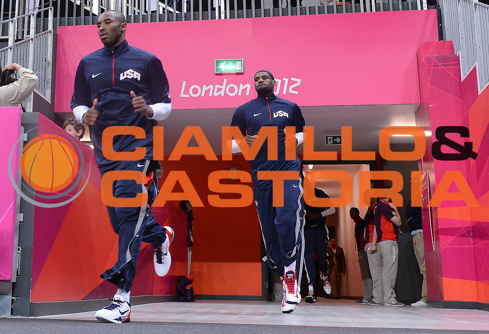 DESCRIZIONE : London Londra Olympic Games Olimpiadi 2012 Men Preliminary Round Lithuania USA Lituania USA<br /> GIOCATORE : LeBron JAMES Kobe Bryant<br /> CATEGORIA : <br /> SQUADRA : USA<br /> EVENTO : Olympic Games Olimpiadi 2012<br /> GARA : Lithuania USA Lituania USA<br /> DATA : 04/08/2012<br /> SPORT : Pallacanestro <br /> AUTORE : Agenzia Ciamillo-Castoria/M.Marchi<br /> Galleria : London Londra Olympic Games Olimpiadi 2012 <br /> Fotonotizia : London Londra Olympic Games Olimpiadi 2012 Men Preliminary Round Lithuania USA Lituania USA<br /> Predefinita :