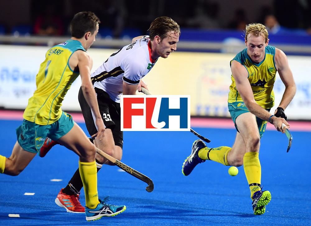 Odisha Men's Hockey World League Final Bhubaneswar 2017<br /> Match id:20<br /> Australia v Germany<br /> Foto: Niklas Bruns (Ger) <br /> COPYRIGHT WORLDSPORTPICS FRANK UIJLENBROEK