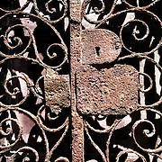 A gate in Havana Vieja.