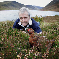 Derek Brown of The Famous Grouse Experience pictured at Loch Turret, where Derek conducts sessions of his Passport to Success programme which has been shortlisted for an award.<br />For further info contact Caorl McLaren/Edrington Group on 01738 493777<br />Picture by Graeme Hart.<br />Copyright Perthshire Picture Agency<br />Tel: 01738 623350  Mobile: 07990 594431