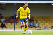 Leeds United Defender Gaetano Berardi (28) during the Pre-Season Friendly match between Southend United and Leeds United at Roots Hall, Southend, England on 22 July 2018. Picture by Stephen Wright.