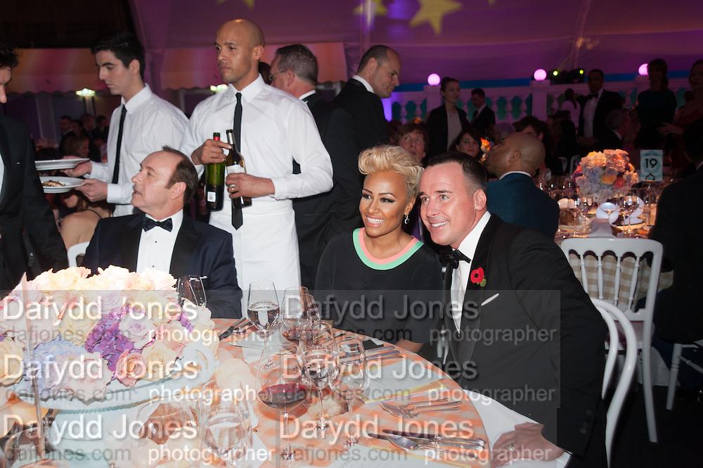 EMILIE SANDE; DAVID FURNISH, Grey Goose Winter Ball to benefit the Elton John Aids Foundation. Battersea Power Station. London. 10 November 2012.