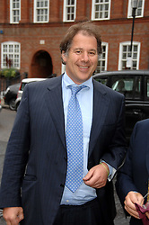 Left, The HON.HENRY SMITH, son of the 4th Viscount Hambleden at the annual Sir David & Lady Carina Frost Summer Party in Carlyle Square, London SW3 on 5th July 2007.<br /><br />NON EXCLUSIVE - WORLD RIGHTS
