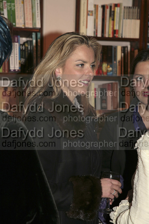 Paula White, Book launch of Pretty Things by Liz Goldwyn at Daunt <br />