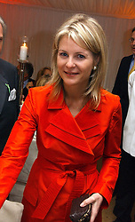 VISCOUNTESS LINLEY at the annual Chelsea Flower Show dinner hosted by jewellers Cartier at the Chelsea Pysic Garden, London on 22nd May 2006.<br /><br />NON EXCLUSIVE - WORLD RIGHTS