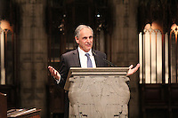 Rockefeller Chapel celebrated Dr. Martin Luther King's birthday Wednesday with a commemoration celebration.<br /> <br /> Opening remarks were given by Robert J. Zimmer, President of the University of Chicago.