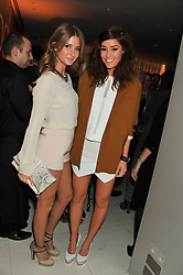 Left to right, MILLIE MACKINTOSH and ERIN McNAUGHT at the Rodial Beautiful Awards 2013 held at St Martin's Lane Hotel, St.Martin's Lane, London on 19th March 2013.