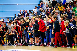 Half time - Rogan/JMP - 11/10/2019 - BASKETBALL - SGS Wise Arena - Bristol, England - Bristol Flyers v Plymouth Raiders - BBL Cup.