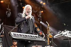 July 1, 2018 - Milwaukee, Wisconsin, U.S - EDGAR WINTER performs live at Henry Maier Festival Park during Summerfest in Milwaukee, Wisconsin (Credit Image: © Daniel DeSlover via ZUMA Wire)