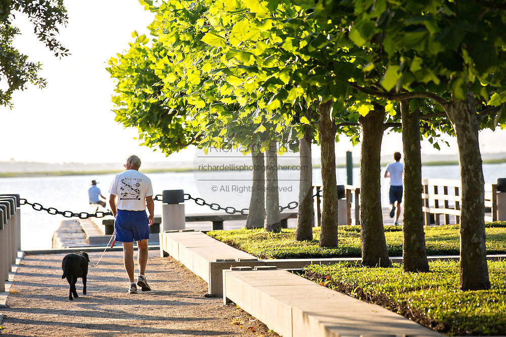 Waterfront park in the historic district of Charleston, SC.