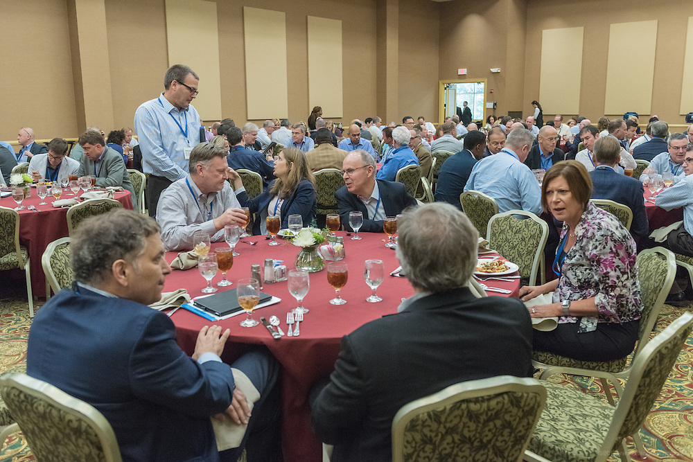 Around lunchtime at Lilly's Global Leadership Conference Tuesday, Aug. 23, 2016 at French Lick Springs Hotel in French Lick, Ind. (Photo by Brian Bohannon for Eli Lilly and Company)