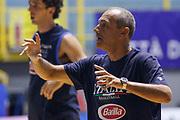 Ettore Messina<br /> Raduno Nazionale Maschile Senior<br /> Allenamento mattina<br /> Cagliari, 03/08/2017<br /> Foto Ciamillo-Castoria/ M. Brondi