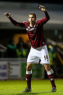 Rod McDonald of Northampton Town during the Sky Bet League 2 match at Sixfields Stadium, Northampton<br /> Picture by Andy Kearns/Focus Images Ltd 0781 864 4264<br /> 14/11/2015