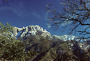 Castle Rock, Winter, Sequoia and Kings Canyon National Parks, California