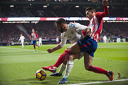 November 18, 2017 - Madrid, Madrid, Spain - during the match between Atletico de Madrid and Real Madrid, week 12 of La Liga at Wanda Metropolitano stadium, Madrid, SPAIN - 18th November of 2017. (Credit Image: © Jose Breton/NurPhoto via ZUMA Press)