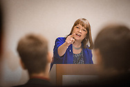 Carol Tobias, president of the National Right to Life Committee, leads a sectional during the 2017 LCMS Life Conference on Saturday, Jan. 28, 2017, in Arlington, Va. LCMS Communications/Erik M. Lunsford
