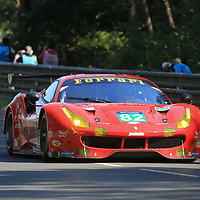 #82, Risi Competizione, Ferrari 488 GTE, driven by: Giancarlo Fisichella, Toni Vilander, Pierre Kaffer, 24 Heures Du Mans, 14/06/2017,