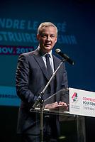 Bruno Le Maire, a Lyon, lors de la 10eme edition des journees de l economie.