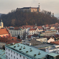 A general view of Ljubljana during Marco Secchi Photography workshop in the city of Ljubljana Slovenia