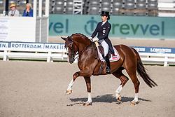 Neumayer Astrid, AUT, Sir Simon 12<br /> European Championship Dressage<br /> Rotterdam 2019<br /> © Hippo Foto - Dirk Caremans