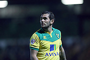 Bradley Johnson during the Sky Bet Championship match between Norwich City and Brighton and Hove Albion at Carrow Road, Norwich, England on 22 November 2014.