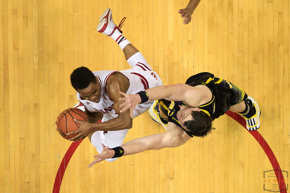 Indiana guard Yogi Ferrell (11) as Michigan played Indiana in an NCCA college basketball game in Bloomington, Ind., Sunday, Feb. 8, 2015. (AJ Mast / Photo))