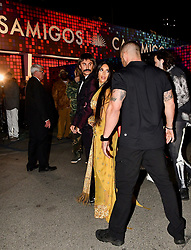 Kim Kardashian arrives at Casamigos Annual Halloween Party at Tower Records in Weho. 27 Oct 2017 Pictured: Kim_Kasrdashian. Photo credit: BLAK-OPS / MEGA TheMegaAgency.com +1 888 505 6342