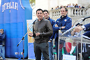 DESCRIZIONE : Roma Trofeo delle Regioni Cesare Rubini Kinder+Sport 2014 - Cerimonia di Apertura<br /> GIOCATORE : Davide Bonora<br /> SQUADRA : FIP Federazione Italiana Pallacanestro <br /> EVENTO : Trofeo delle Regioni Cesare Rubini Kinder+Sport 2014 - Cerimonia di Apertura<br /> GARA : Trofeo delle Regioni Cesare Rubini Kinder+Sport 2014 - Cerimonia di Apertura<br /> DATA : 01/04/2014<br /> CATEGORIA : Conferenza<br /> SPORT : Pallacanestro <br /> AUTORE : Agenzia Ciamillo-Castoria/GiulioCiamillo