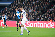 Kylian Mbappe (PSG) reacted after feeling bad during the UEFA Champions League, Group A football match between Paris Saint-Germain and Club Brugge on November 6, 2019 at Parc des Princes stadium in Paris, France - Photo Stephane Allaman / ProSportsImages / DPPI