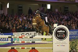 Stühlmeyer, Patrick, Lord Lohengrin<br /> Frankfurt - Festhallen Reitturnier 2014<br /> Championat von Frankfurt <br /> © www.sportfotos-lafrentz.de/ Stefan Lafrentz