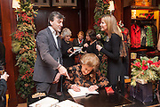 LADY PAMELA HICKS; , Book launch for ' Daughter of  PHILIP KNATCHBULL; LADY PAMELA HICKS; INDIA HICKS, Empire - Life as a Mountbatten' by Lady Pamela Hicks. Ralph Lauren, 1 New Bond St. London. 12 November 2012.