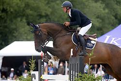 Genin Bertrand, BEL, Erle<br /> Belgian Championship horses 6 years of age<br /> Gesves - 2018<br /> © Hippo Foto - Julien Counet<br /> 15/08/2018