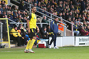 Burton Albion defender Colin Daniel (26) during the EFL Sky Bet League 1 match between Burton Albion and Luton Town at the Pirelli Stadium, Burton upon Trent, England on 27 April 2019.