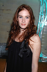 Actress JULIA OLDFIELD at a party hosted by Belvedere Vodka and Jade Jagger to launch The Belvedere Jagger Dagger cocktail held at Automat, Berkeley Street, London on 8th May 2008.<br /><br />NON EXCLUSIVE - WORLD RIGHTS ******(EMBARGOED FOR PUBLICATION IN UK MAGAZINES UNTIL 2 MONTHS AFTER CREATE DATE AND TIME)****** www.donfeatures.com  +44 (0) 7092 235465