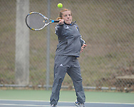 Oxford High's Sarah Nash vs. Alcorn Central in high school tennis action at Avent Park in Oxford, Miss. on Tuesday, February 26, 2013.
