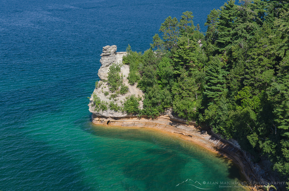 Miners Castle Pictured Rocks National Lakeshore Michigan