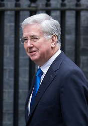 © Licensed to London News Pictures. 31/01/2017. London, UK. Defence Secretary Michael Fallon arriving at Downing Street for a cabinet meeting this morning. Photo credit : Tom Nicholson/LNP