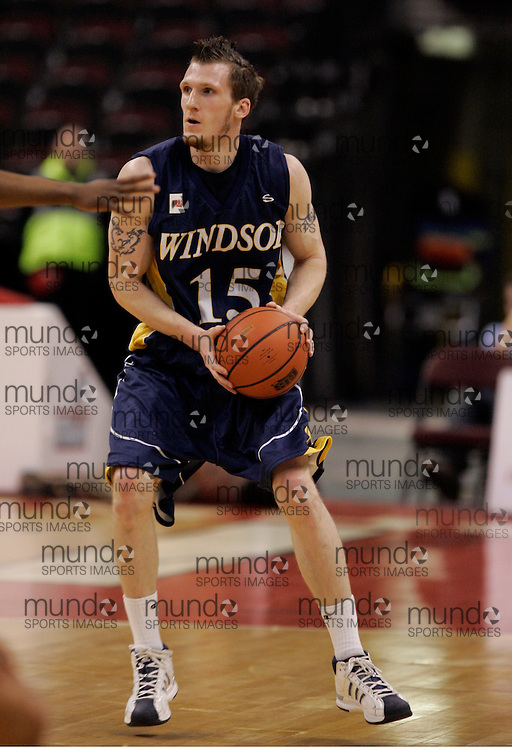 CIS Basketball Champioships-Ottawa, March 20, 2010, Windsor Lancers-Andre Smyth