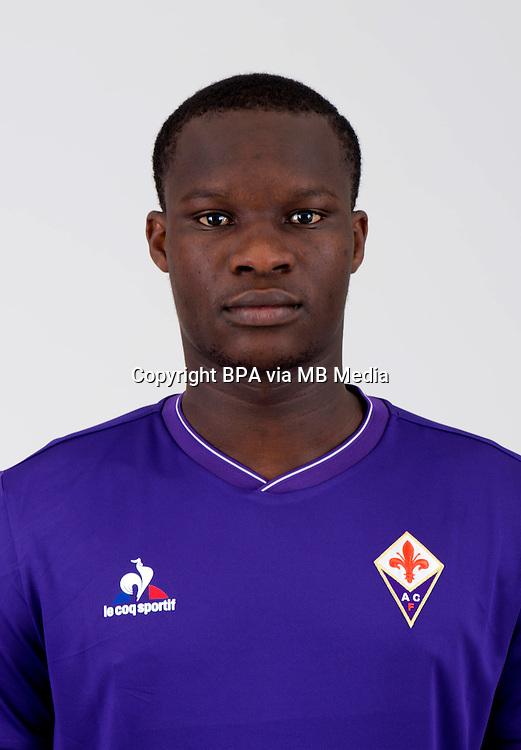 "Italian League Serie A -2015-2016 / <br /> ( ACF Fiorentina ) - <br /> Babacar El Hadji Khouma "" Babacar """
