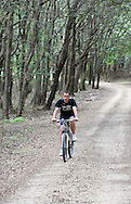 Cycling through Dundo Forest Reserve on the Kalifron peninsula, Rab, Croatia (25 June 2013)