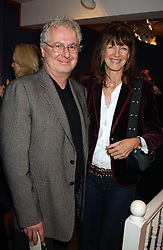 JONATHAN POWELL and JUDI CHADAWAY at a private view sculptures, drawings and Maquettes by Aly Brown held at Lucy B Campbell Fine Art, 123 Kensington Church Street, London W8 on 22nd November 2005.<br />
