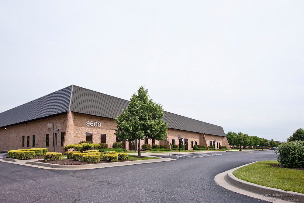 Exterior images of 9600-9611 Pulaski Park Dr. in the Pulaski Business Park of Baltimore, MD for Merritt Properties