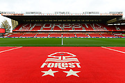 The Brian Clough Stand during the EFL Sky Bet Championship match between Nottingham Forest and Burton Albion at the City Ground, Nottingham, England on 21 October 2017. Photo by Jon Hobley.