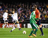 Valencia's  Danilo Barbosa     during Uefa Europa League match. February 18, 2016. (ALTERPHOTOS/Javier Comos)