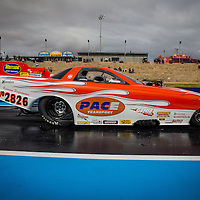 Ian Foster (2826) in his Supercharged Outlaw Funny Car.